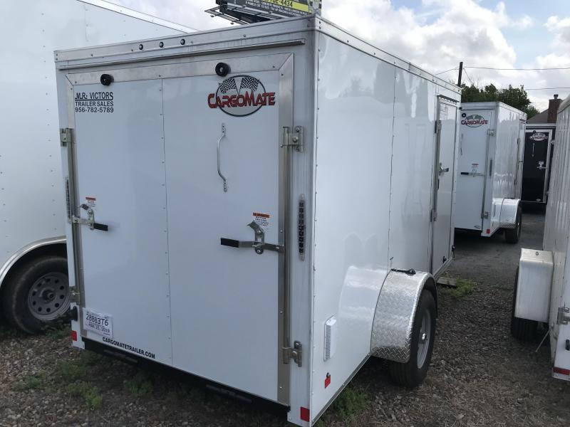 2019 Cargo Mate 6 x 12 Enclosed Cargo Trailer
