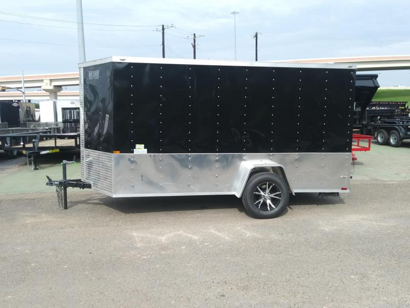 2018 LARK 6X12 ENCLOSED CARGO TRAILER