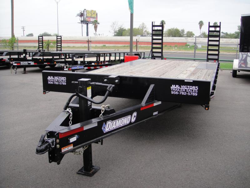 2019 Diamond C Trailers 102 X 20 Equipment Trailer