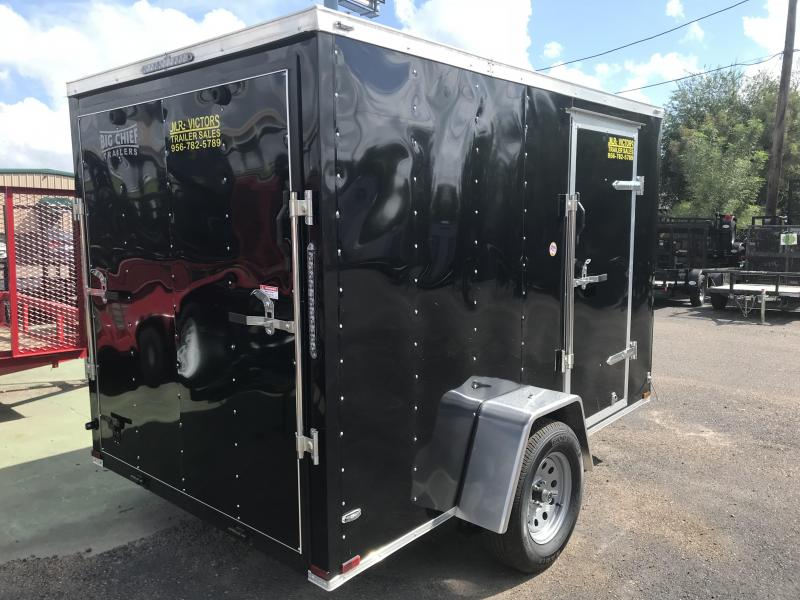 2018 LARK 6 X 10 ENCLOSED CARGO TRAILER