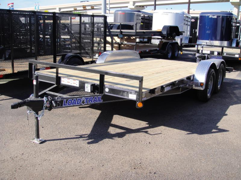 2017 Load Trail 83 X 16 TANDEM AXLE Car / Racing Trailer