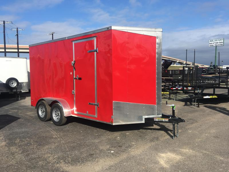 2019 LARK 7X14 ENCLOSED TRAILER