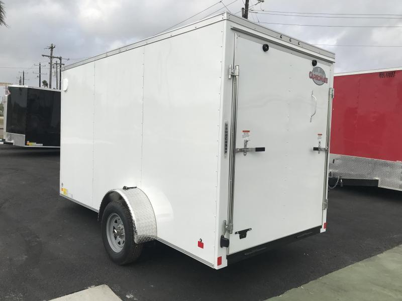 2020 Cargo Mate 6 x 12 Enclosed Cargo Trailer