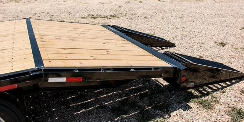2017 Load Trail 102 X 30 HEAVY DUTY PINTLE HOOK Flatbed Trailer