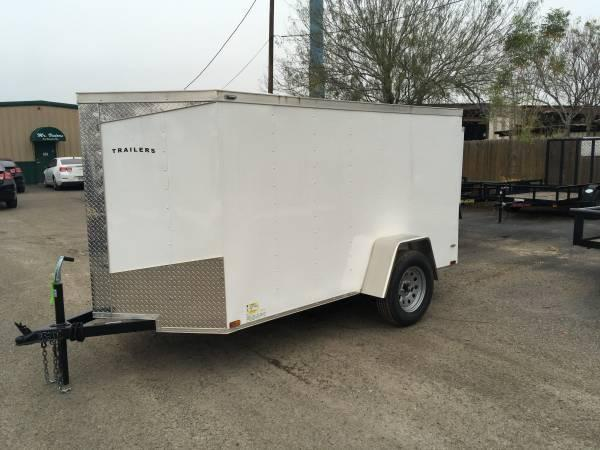2019 Lark 5 x 10 Enclosed Trailer