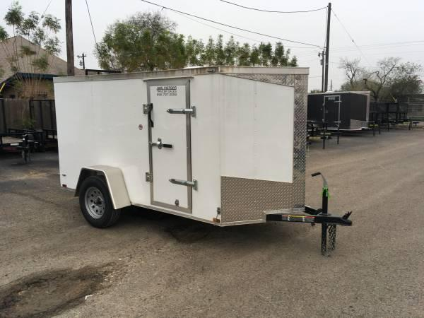 2019 Lark 5X10SA Enclosed Cargo Trailer