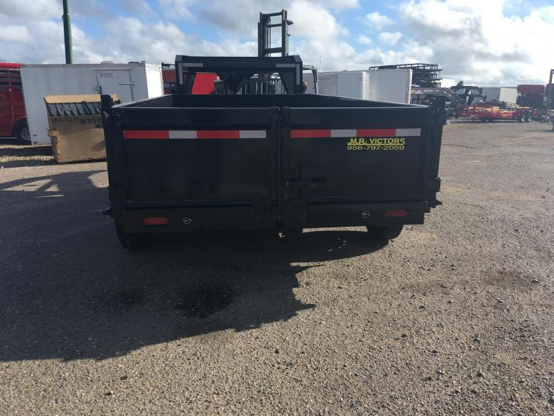 2019 MR VICTORS 83 X 14 GN DUMP TRAILER