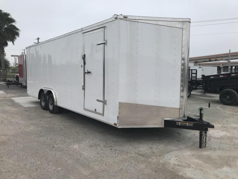 2019 Lark 8.5 x 24 Enclosed Cargo Trailer