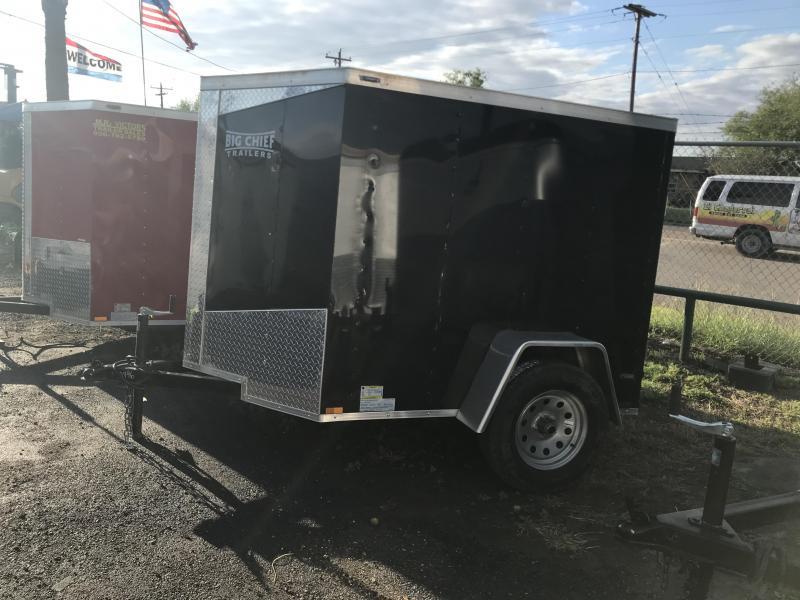 2019 Lark 5 X 6 Enclosed Cargo Trailer