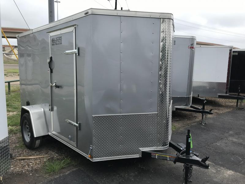 2019 Lark 6 X 10 SA Enclosed Cargo Trailer