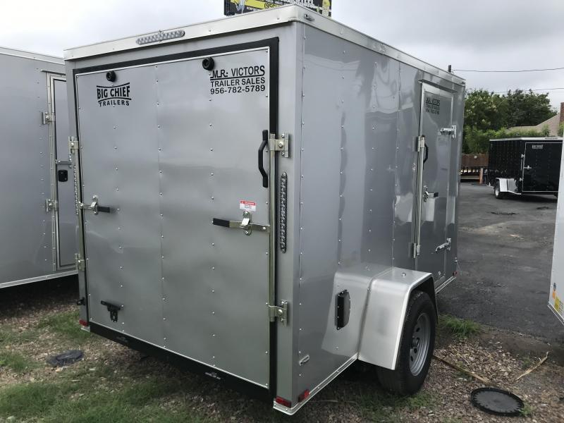 2019 Lark 6 X 10 SA Enclosed Cargo Trailer