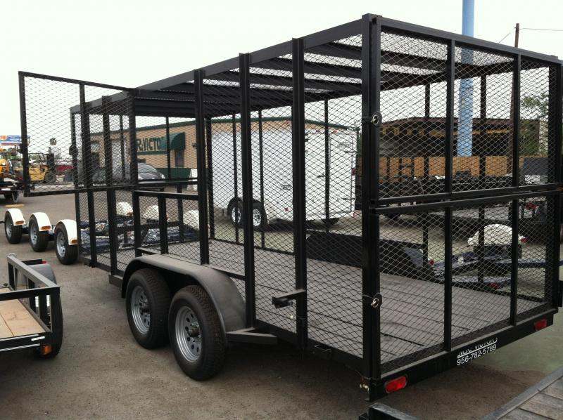 2019 MR VICTORS 76 x 16 TRASH TRAILER Utility Trailer