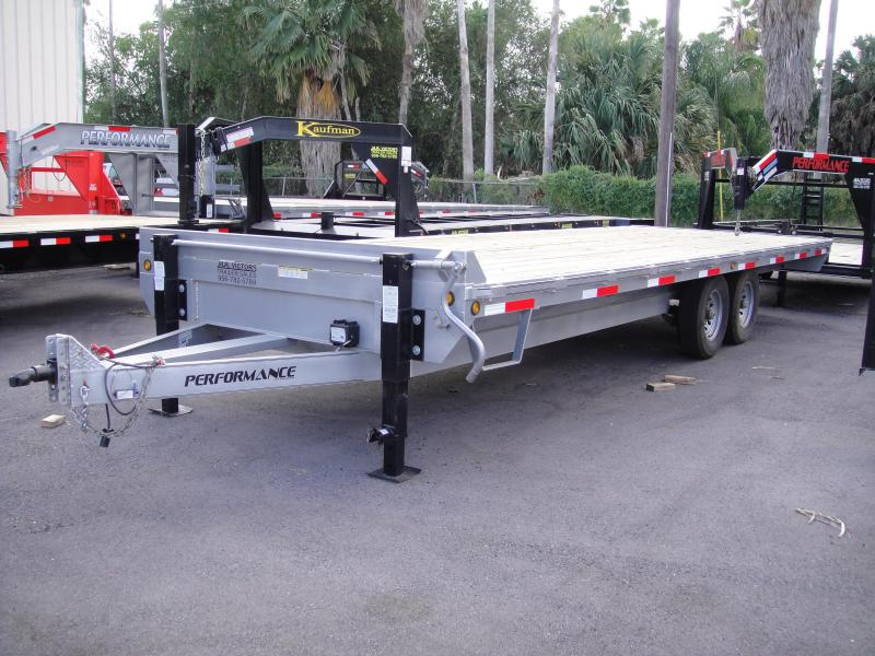 2017 Performance Trailers 102 X 24 DECK OVER Utility Trailer