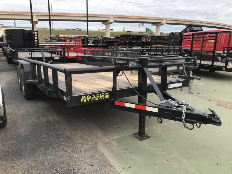 2019 MR VICTORS 83X18 HD UTILITY TRAILER