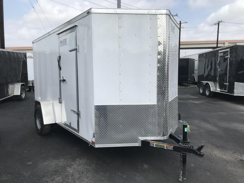 2019 Lark 6 X 12 Enclosed Cargo Trailer