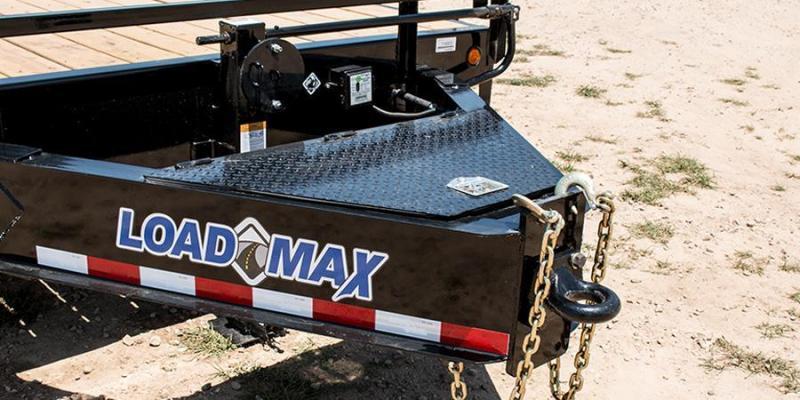 2017 Load Trail 102 X 25 HEAVY DUTY PINTLE HOOK Flatbed Trailer