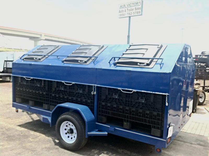 2017 Mr Victors 83X12 CUSTOM RECYCLING Utility Trailer