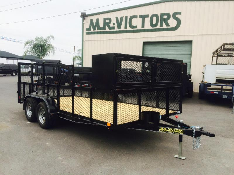 2017 Lamar Trailers 83X16 LANDSCAPE Equipment Trailer