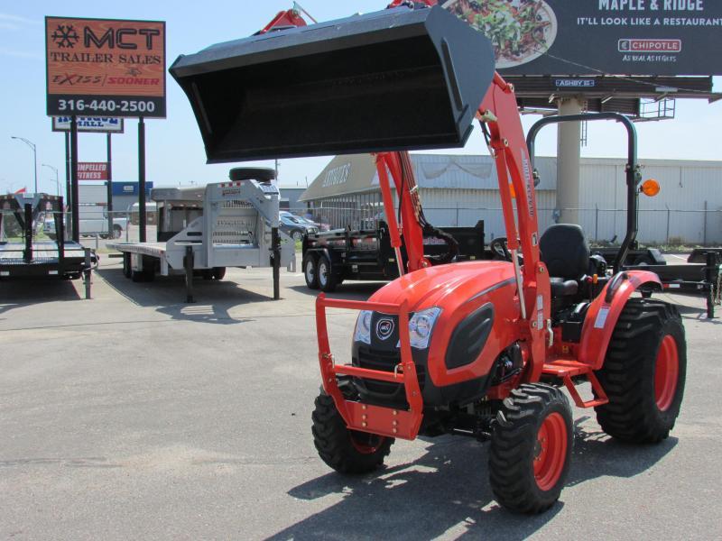 2018 Kioti CK2610 HST Tractor