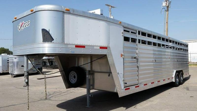 2013 Exiss Trailers STK 828 Livestock Trailer