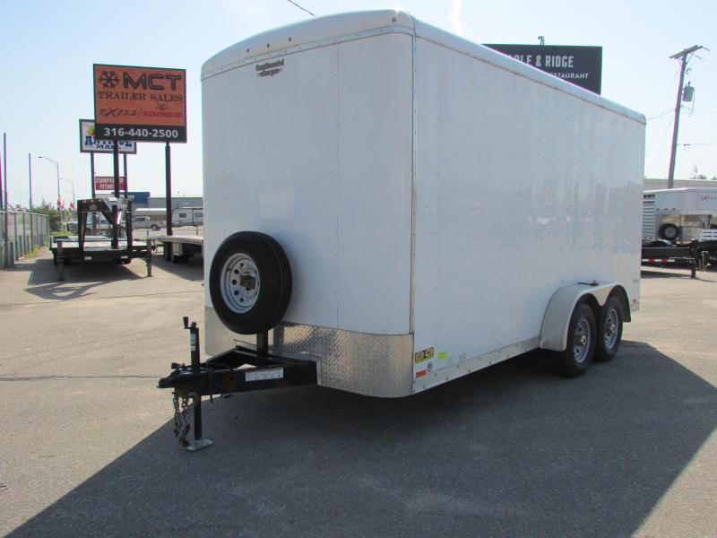 2014 Continental Cargo 7 X 16 CARGO Enclosed Cargo Trailer
