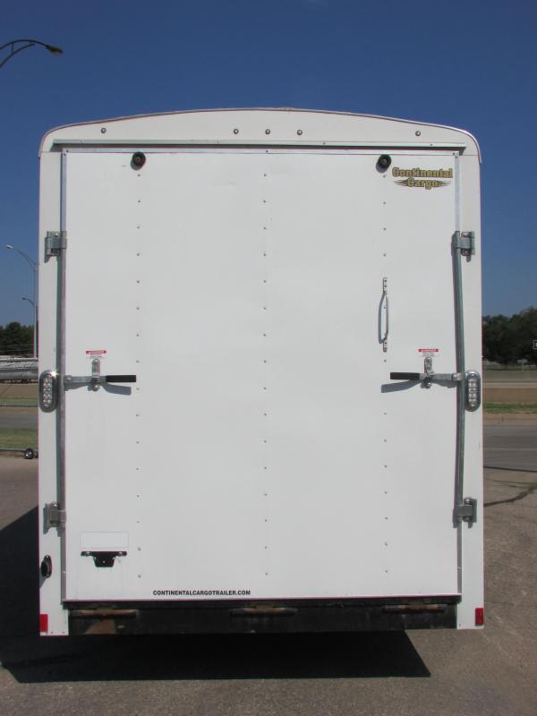2014 Continental Cargo 7 X 16 CARGO Enclosed Cargo Trailer