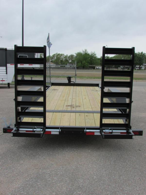 2017 Midsota NOVA ET 8218 Equipment Trailer