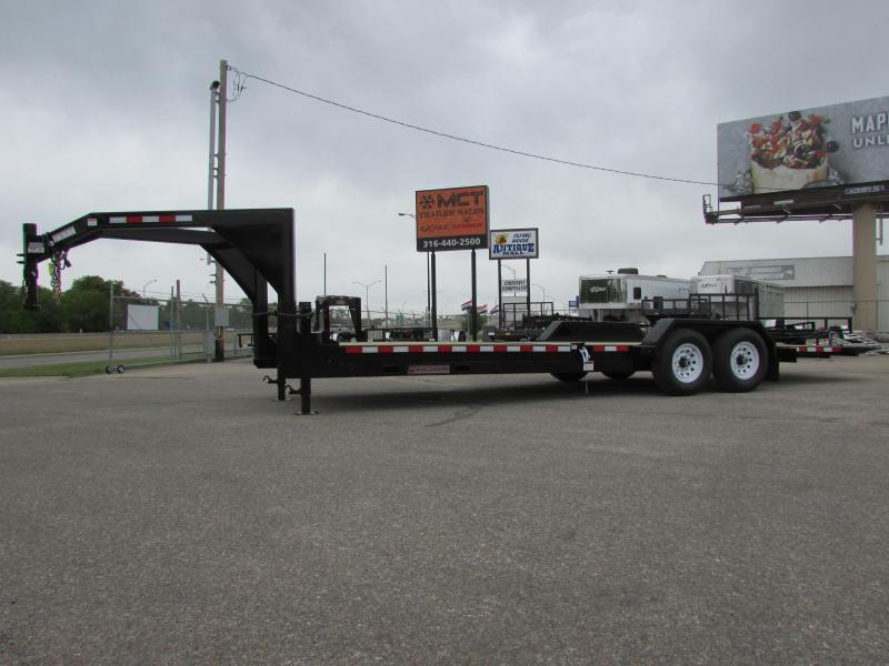 2017 Midsota TB-24GN Flatbed Trailer