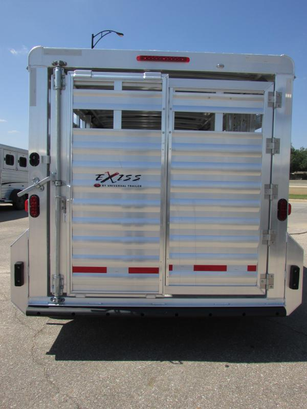 2018 Exiss Trailers STK 7016 Livestock Trailer