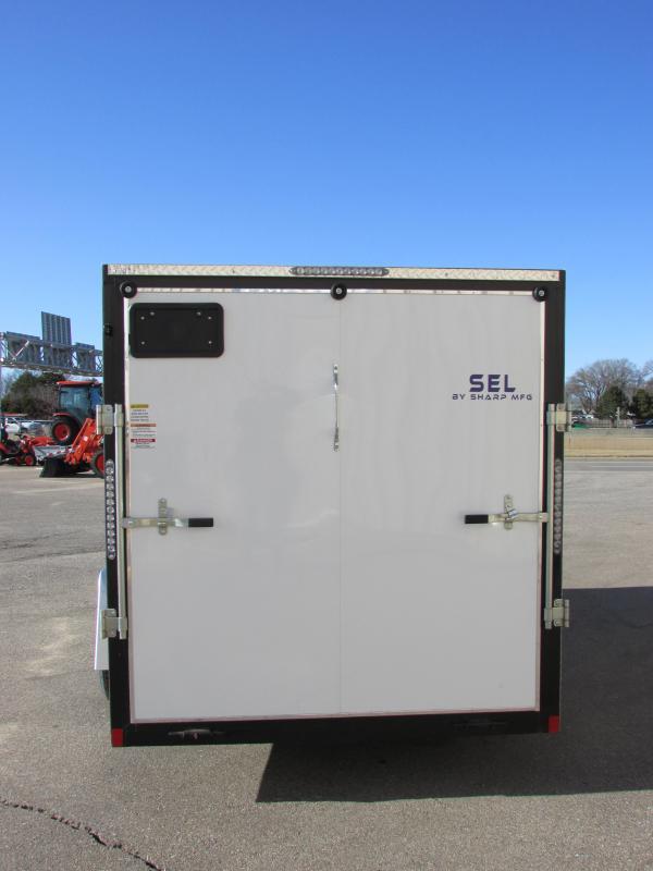 2019 Sharp S.E.L. 6 X 12 Enclosed Cargo Trailer