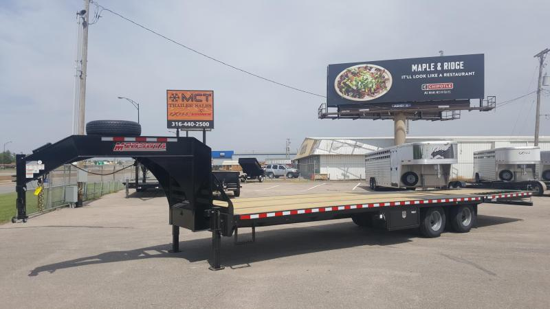 2018 Midsota FB33GN HB Flatbed Trailer Hyd Dove