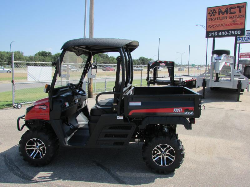 2018 Kioti MECHRON 2200 Utility Side-by-Side (UTV)