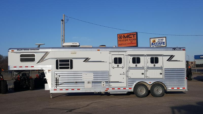 2004 4-Star Trailers 3H GN 10 LQ Horse Trailer