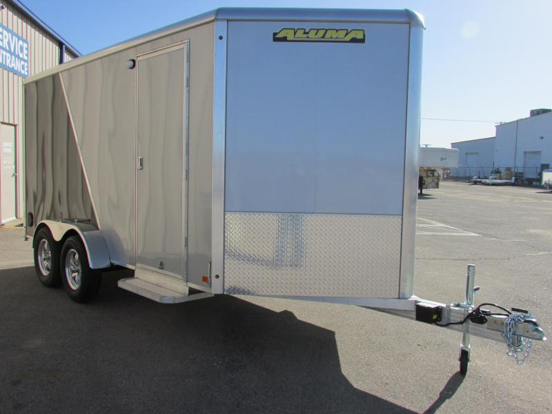 2019 Aluma AE714TAR Enclosed Cargo Trailer
