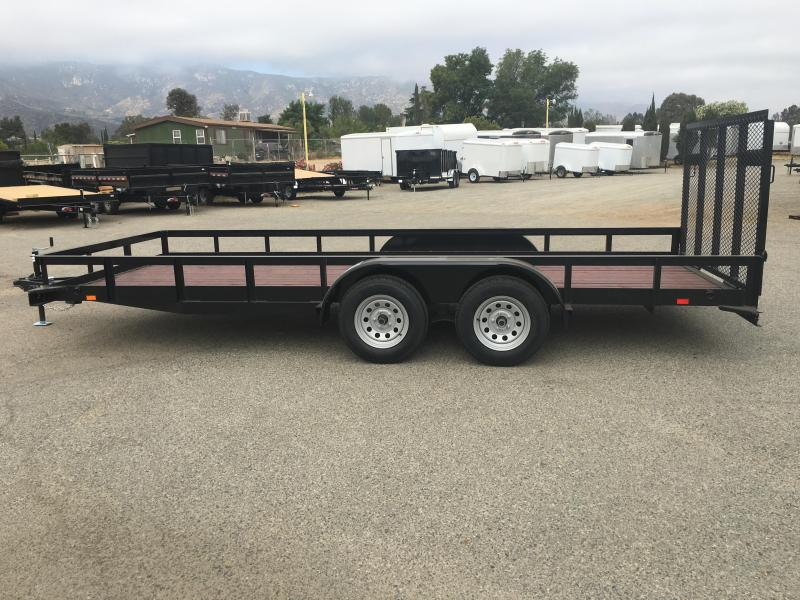 2019 Playcraft 82X18 SUTA Utility Trailer in Ashburn, VA