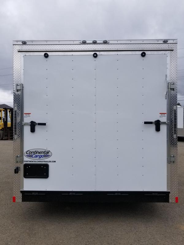2019 Continental Trailers VHW 8x14 Enclosed Cargo Trailer