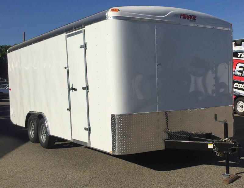 2018 Mirage Trailers 8.5x20 Enclosed Cargo Trailer
