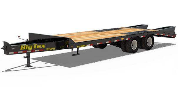2019 Big Tex Trailers 25PH-255 Equipment Trailer