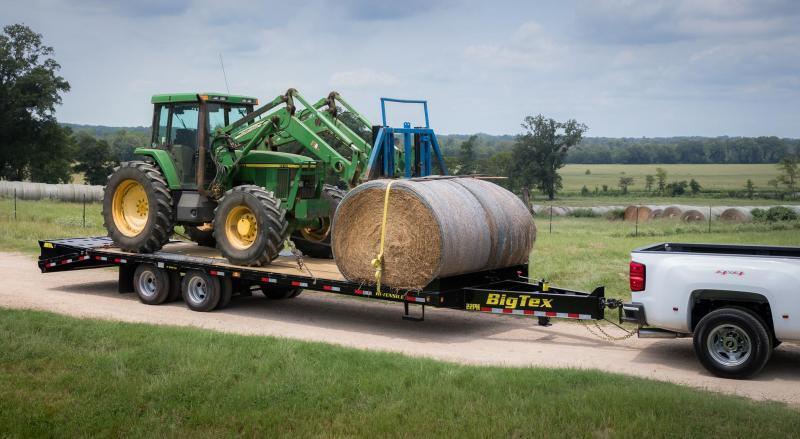 2020 Big Tex Trailers 22PH-20+5 Equipment Trailer