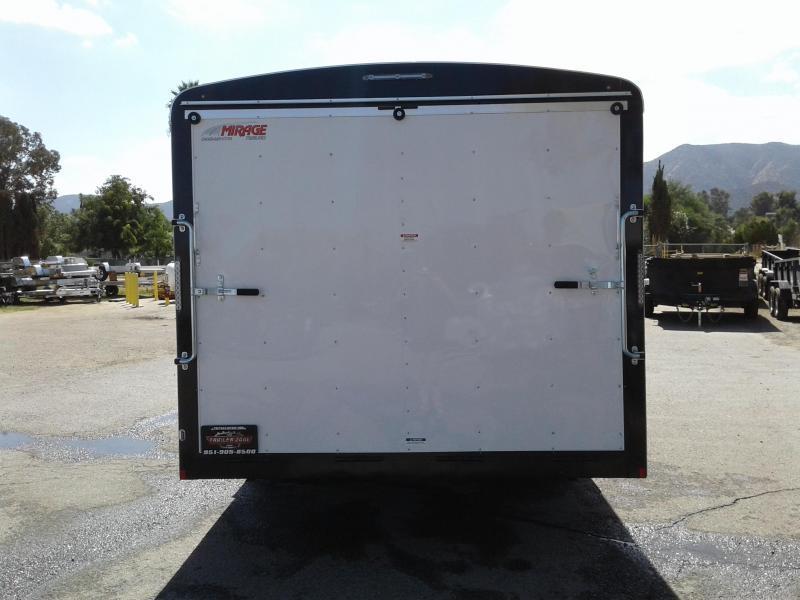 2018 Mirage Trailers XPO 8.5 X 20 Enclosed Cargo Trailer