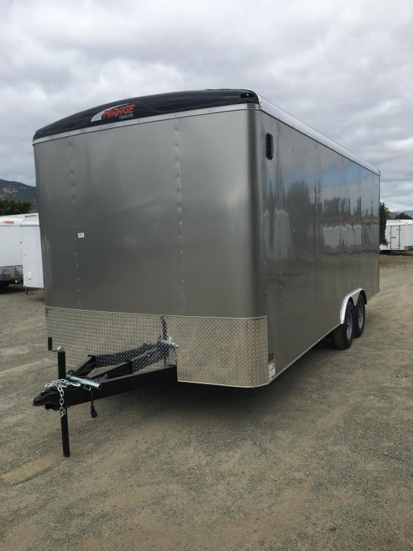 2019 Mirage Trailers 8.5X16 XCEL Enclosed Cargo Trailer in Ashburn, VA