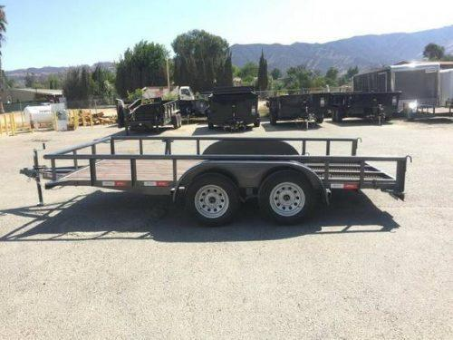 2018 Sun Country 82x14 Utility Trailer