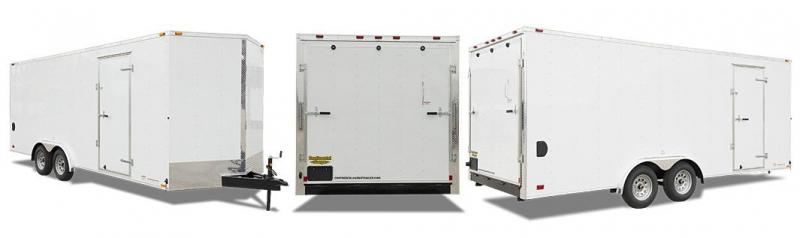2019 Continental Cargo VHW8.5X22 TA3 Enclosed Cargo Trailer