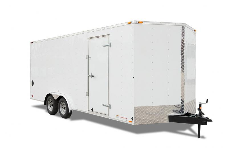 2019 Continental Cargo VHW8.5x20 TA2 Enclosed Cargo Trailer