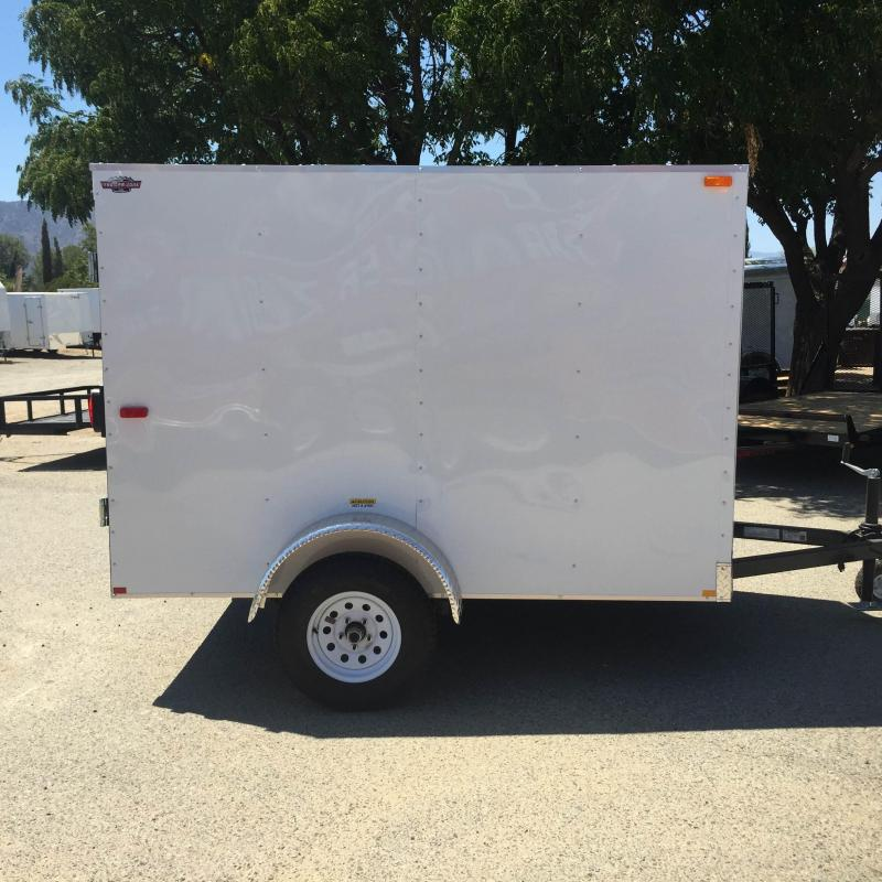 2019 Cargo Craft 5X8 Enclosed Cargo Trailer