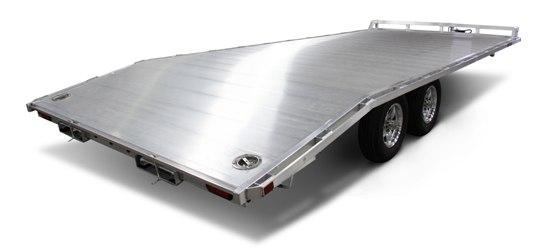2020 Aluma 1022 Utility Deck Over Trailer