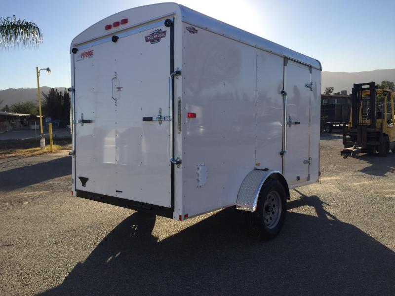 2018 Mirage Trailers XCEL 6 X 10 SA Enclosed Cargo Trailer