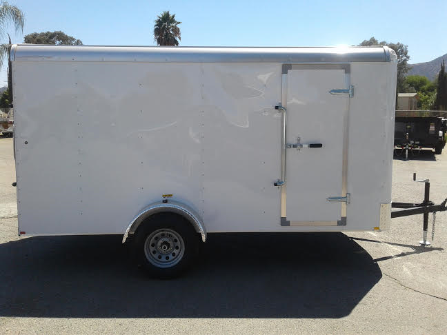 2017 Mirage Trailers 6x10 XPO Enclosed Cargo Trailer