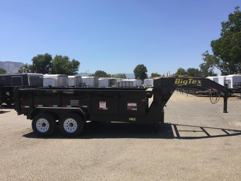 2017 Big Tex Trailers 14GX-14 Dump Trailer