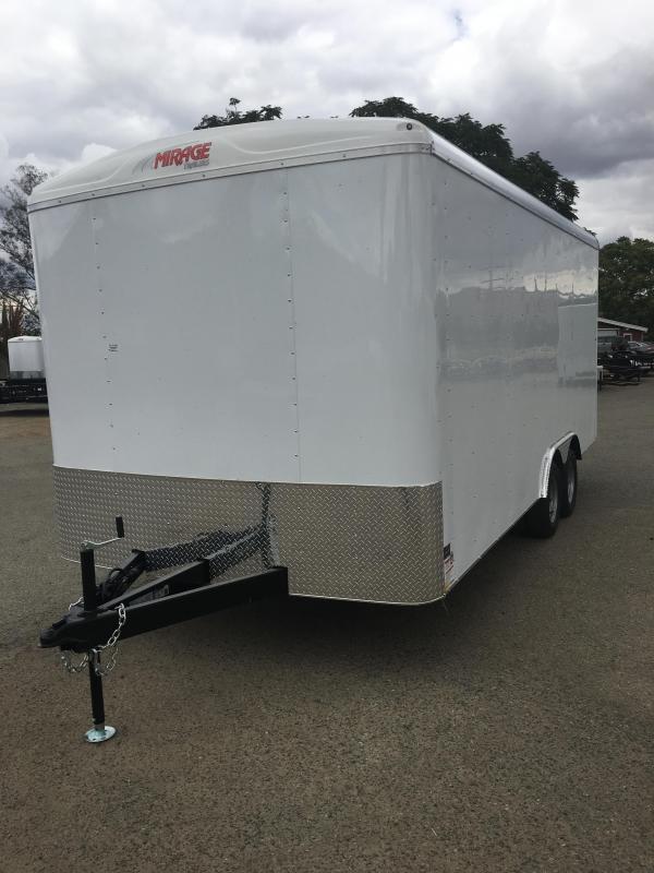 2018 Mirage Trailers XPO 8.5X18 TA2 Enclosed Cargo Trailer
